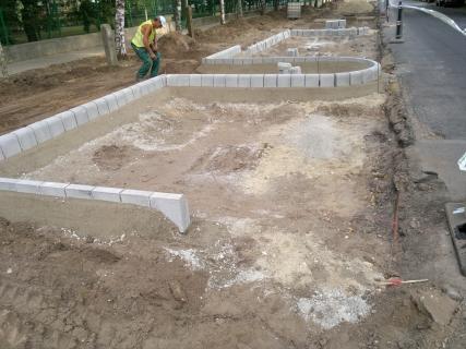 Debrecen Pallagi út Teva személygépkocsi parkol építés